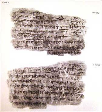 Bakshali Manuscript