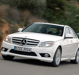 Mercedes-Benz C 320 CDI. Photograph:  BS Motoring