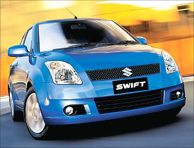 SUNLIGHT COPPER Maruti Swift colour variants