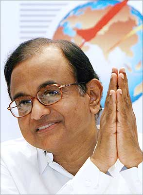 Finance Minister P Chidambaram. Photograph: Tauseef Mustafa/AFP/Getty Images
