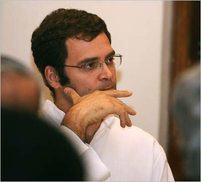 Congress leader Rahul Gandhi. Photograph: AFP/Getty Images