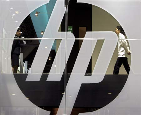 HP's brand value fell 11 per cent.