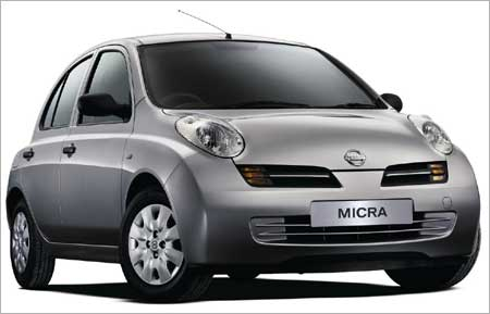 Nissan Micra In India In 2010 Rediff Com