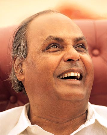 Indian business tycoon Dhirubhai Ambani used to sell bhajias for a living.