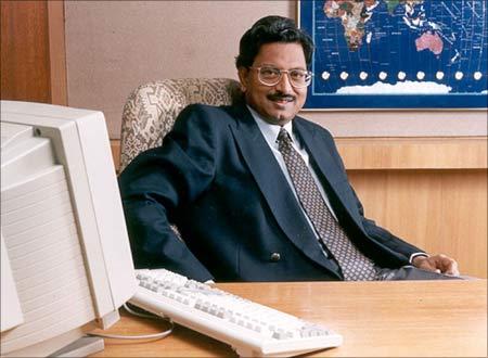 Ramalinga Raju, jailed chairman of Satyam Computer Services