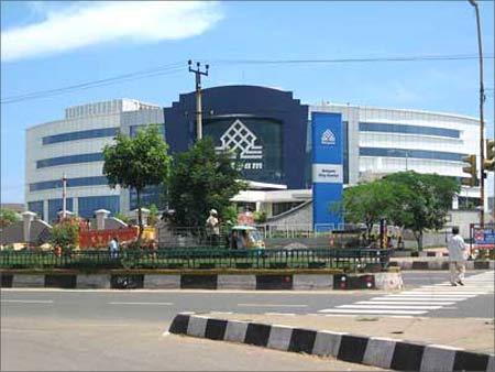 The Satyam Campus in Hyderabad