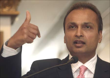 Anil Ambani, Chairman of Anil Dhirubhai Ambani Group. | Photograph: Amit Dave/Reuters