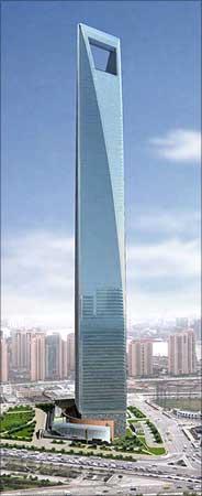 Shanghai World Financial Centre.