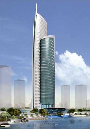 Almas Tower.