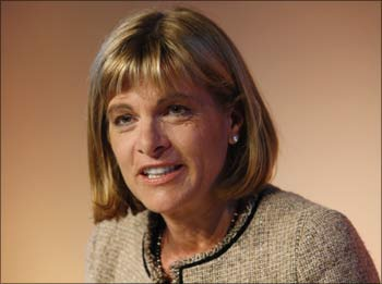 Anne Lauvergeon, chief executive of France's nuclear reactor maker Areva.
