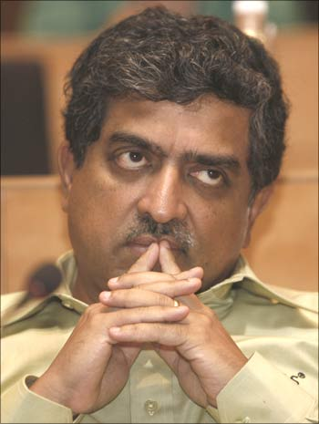 Nandan Nilekani, former co-chairman of Infosys Technologies and chairman of Unique Identification Database Authority of India.