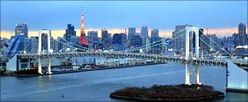 Tokyo ranks as one of the world's five costliest cities.