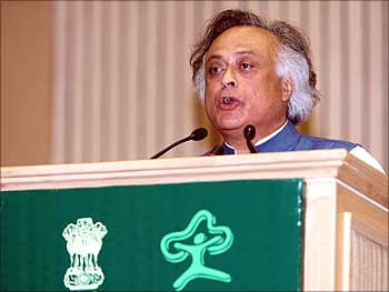 Minister of State for Environment and Forests Jairam Ramesh.