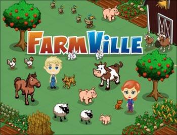 Farmville, a popular social game
