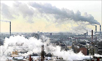 Russia ranks third among the worst polluters.