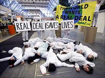 In pictures: Copenhagen climate summit