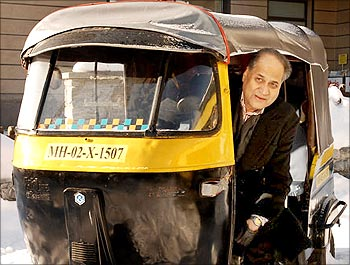 Rahul Bajaj, the man behind the success of Bajaj Auto.