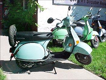 Bajaj Scooters.