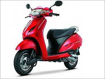 Honda Activa.