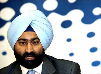 Malvinder Mohan Singh.