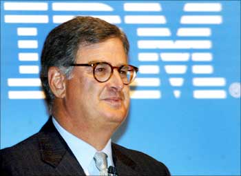 Samuel Palmisano, chairman and CEO of of IBM.