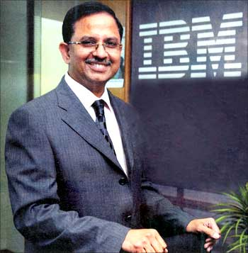 IBM India managing director Shanker Annaswamy.