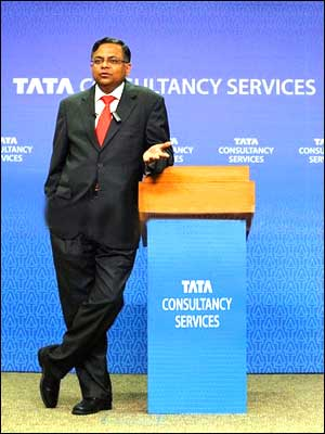 N Chandrasekaran, CEO, TCS.