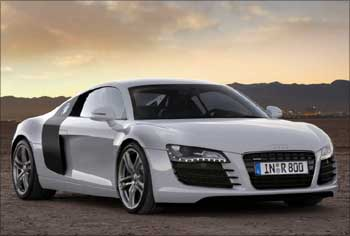 The Audi R8.