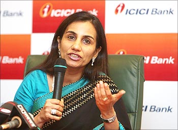 India's ICICI Bank's CEO designate Chanda Kochhar speaks during a news conference in Mumbai.