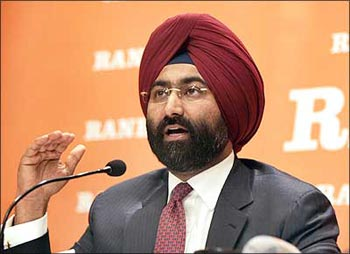 Malvinder Mohan Singh who sold Ranbaxy to Daiichi of Japan.