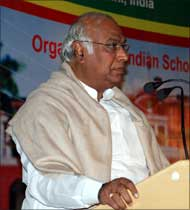 Union Minister of Labour and Employment, Mallikarjun Kharge