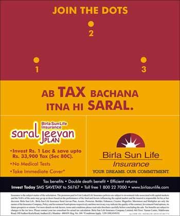 Birla Sun Life Insurance advt.