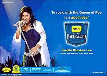 Idea Cellular's popular campaign.