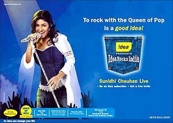 Idea Cellular's popular campaign.