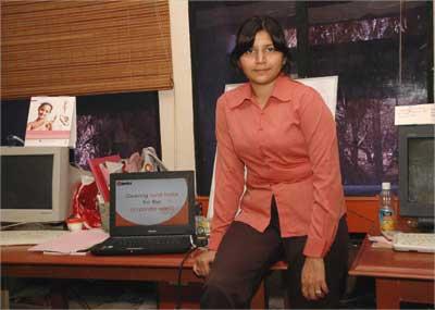 Richa Pandey Mishra of eJeevika