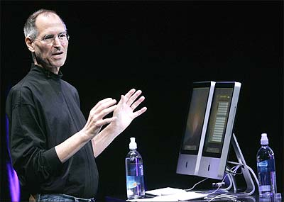 Apple Inc CEO Steve Jobs.