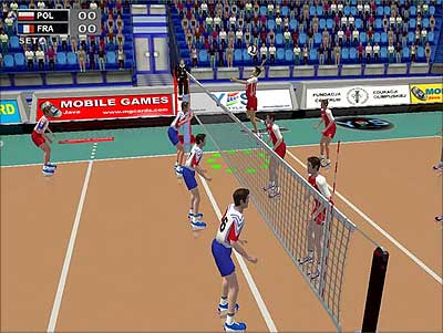 volleyball online game