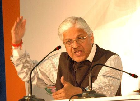 Dr Ashwani Kumar, Union minister of state for commerce and industry. | Photograph: Rajesh Karkera