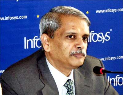 Kris Gopalakrishnan, CEO and managing director, Infosys