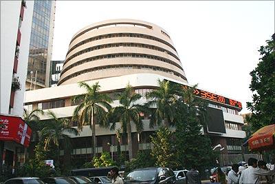 The Bombay Stock Exchange building