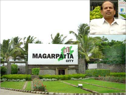 Magarpatta city, Inset Staish Magar