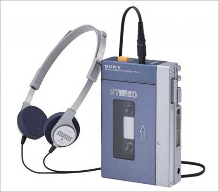 The first Sony Walkman - TPS-L2.