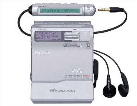 Sony Walkman MZ-N1.