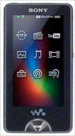 Sony Walkman NWZ-X1000.
