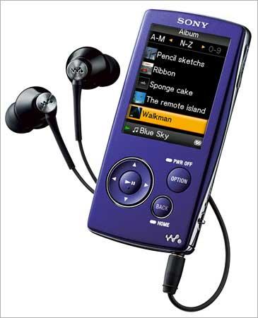 Sony Walkman NW A 800.