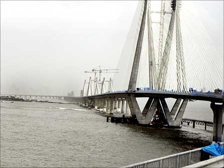 Mumbai's Bandra Worli Sea Link