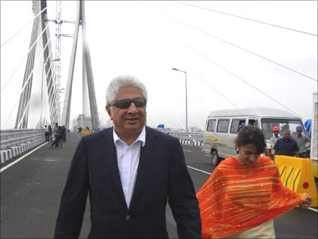 Ajit Gulabchand, chairman,Hindustan Construction Company