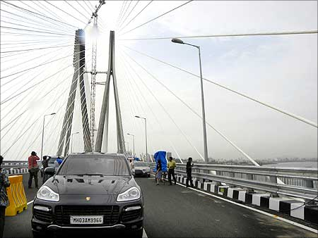 Mumbai-Worli sealink.