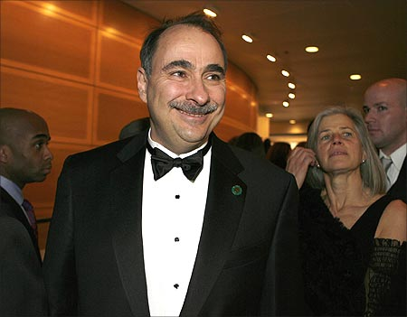 White House senior advisor David Axelrod.