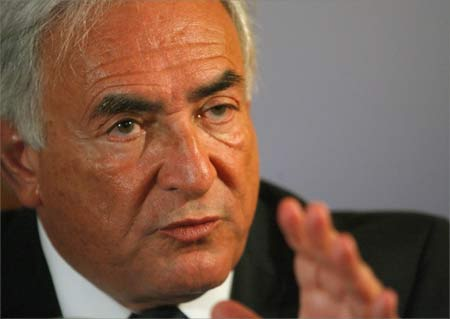International Monetary Fund managing director Dominique Strauss-Kahn.
